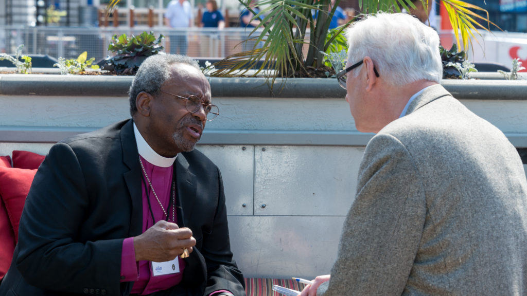 Presiding Bishop Michael Curry is Interviewed by Bill Tammeus