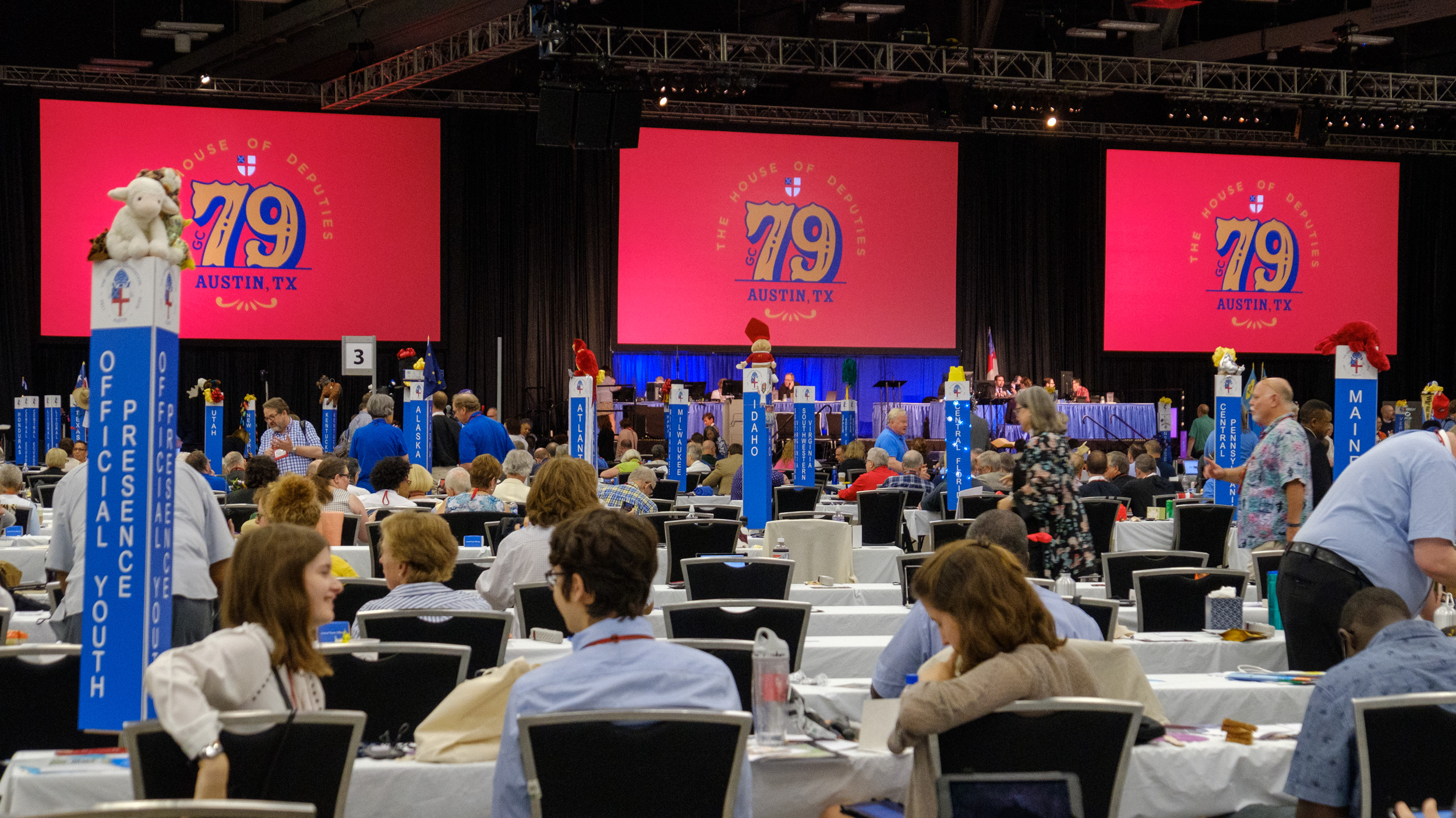 Timing for the 80<sup>th</sup> General Convention of The Episcopal Church uncertain. Decision due in the Fall.