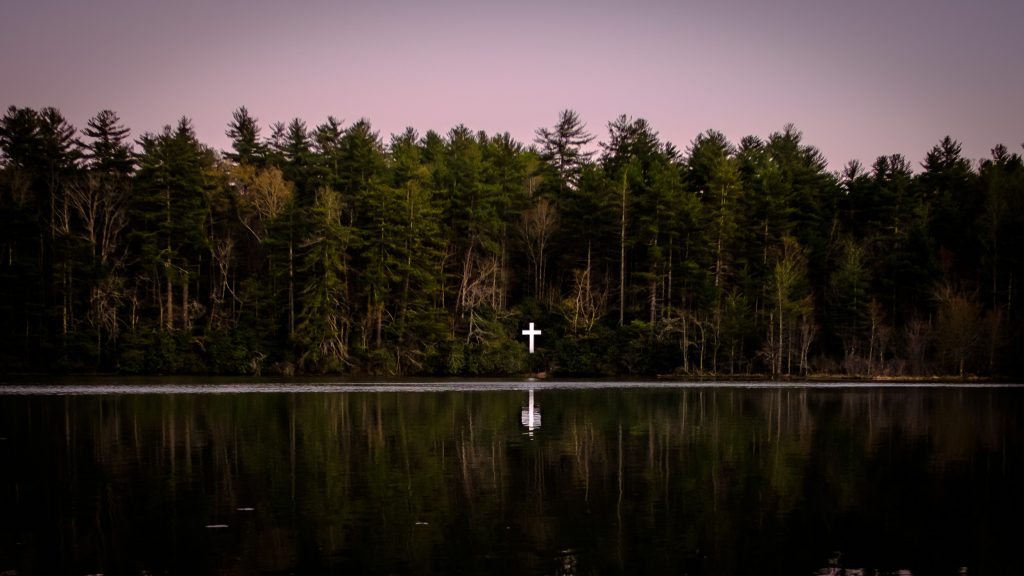 The Cross on Lake Kanuga, at Kanuga Conference Center.