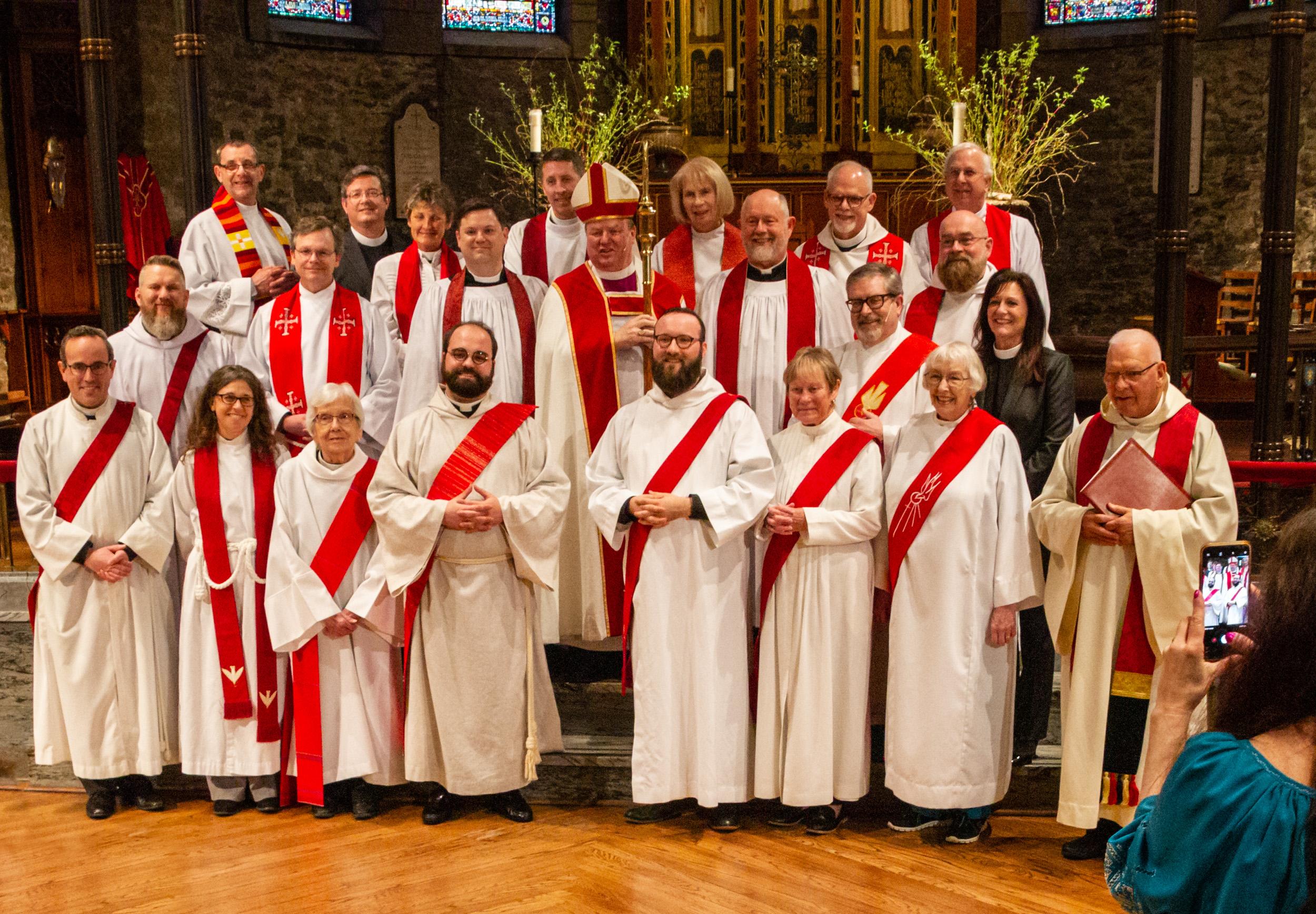 The Ordinations of  Joseph Pierjok and James Yazell to the Diaconate