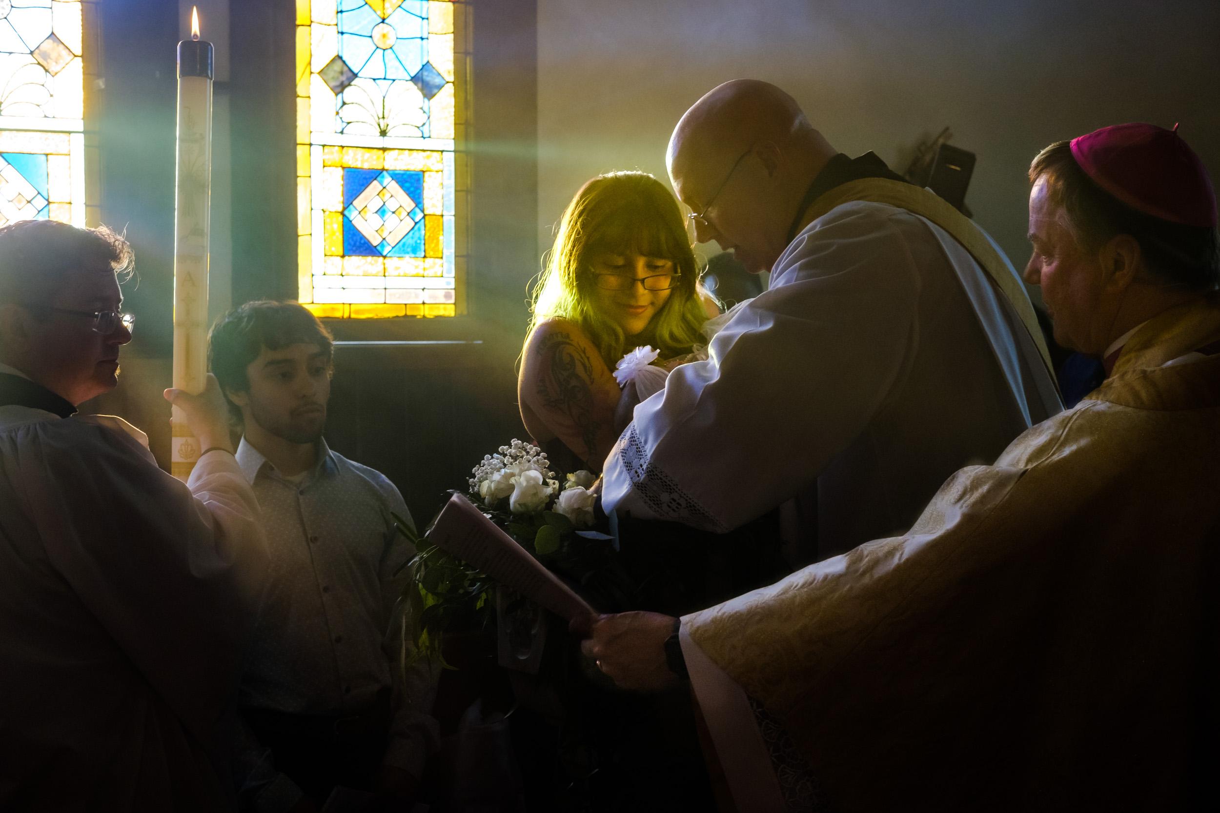 Easter Vigil & Baptisms at Grace, Carthage