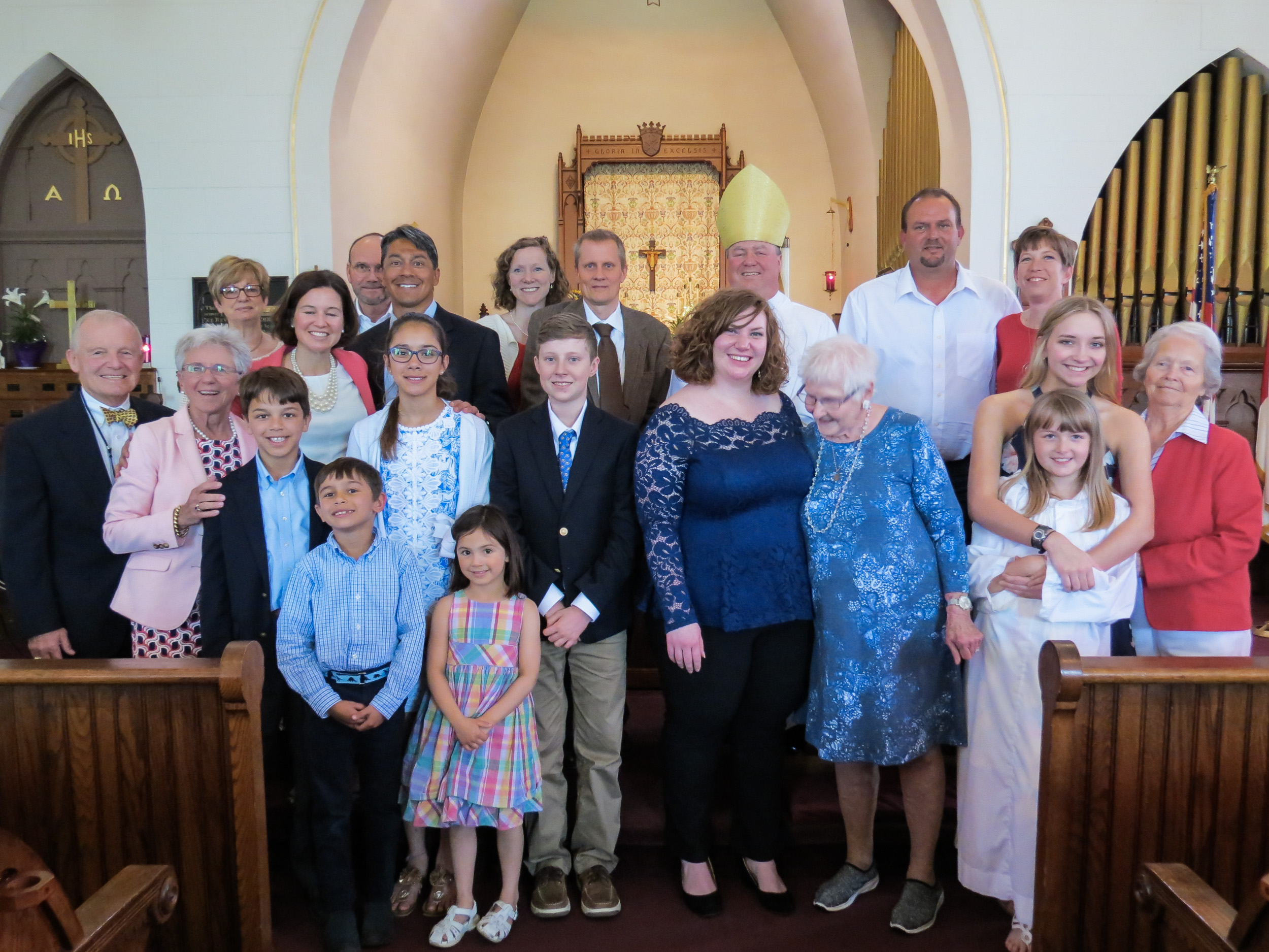 Area Confirmations at Christ Church Boonville