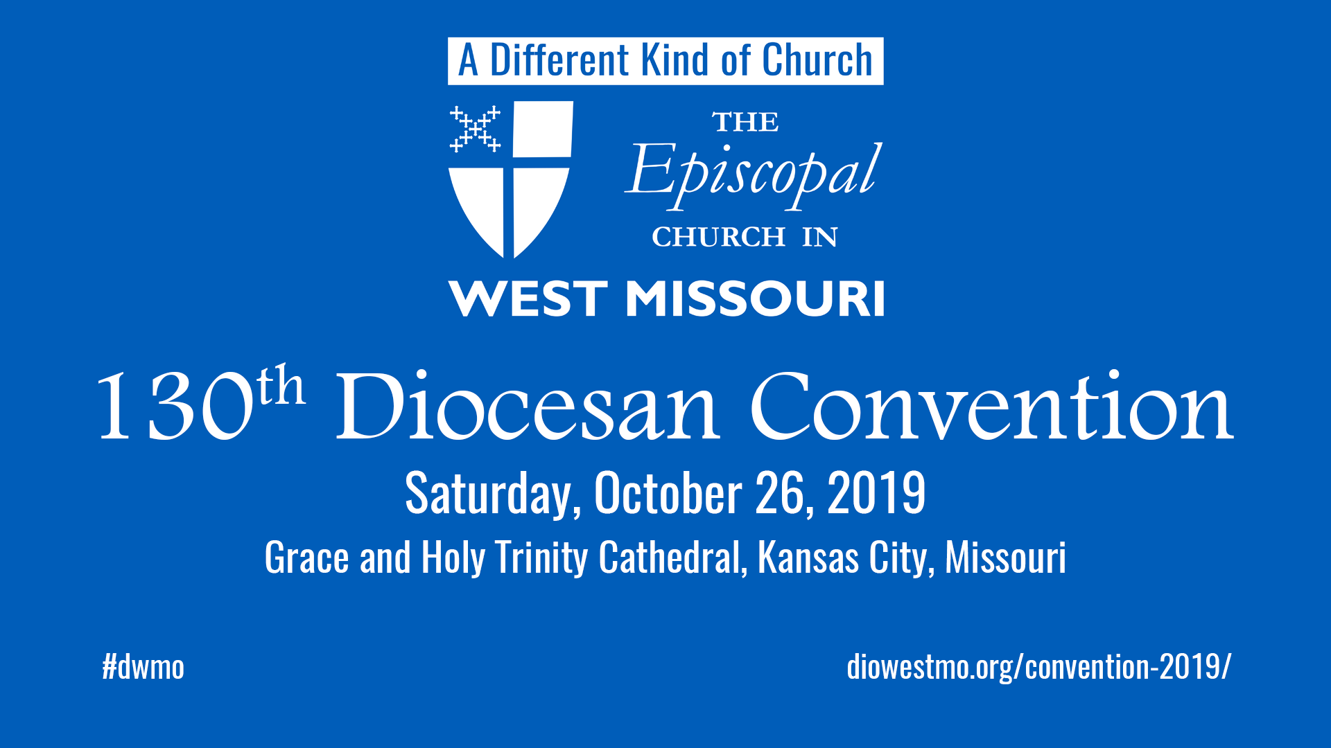 FINAL REMINDER:  Diocesan Convention Registration closes this Friday, October. 18