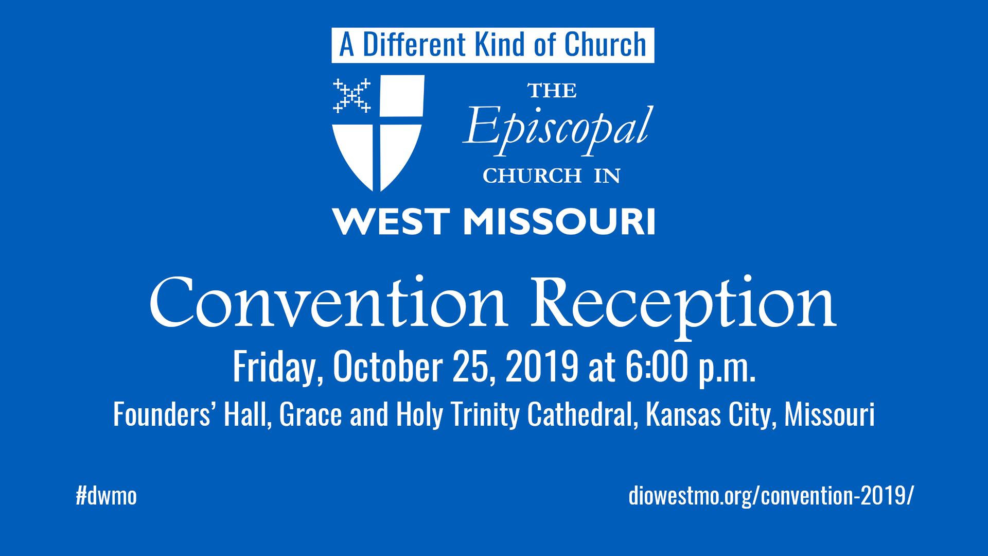 Pre-Convention Reception – October 25, 2019