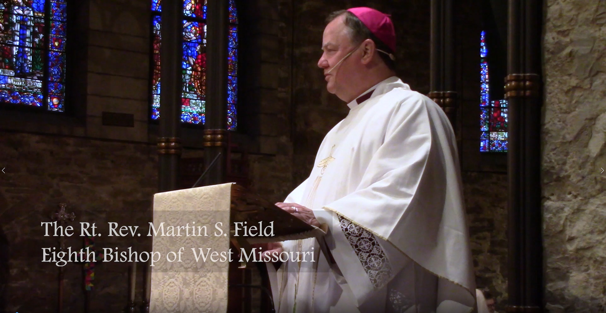 Bishop Marty's Sermon at the 2019 Convention Eucharist
