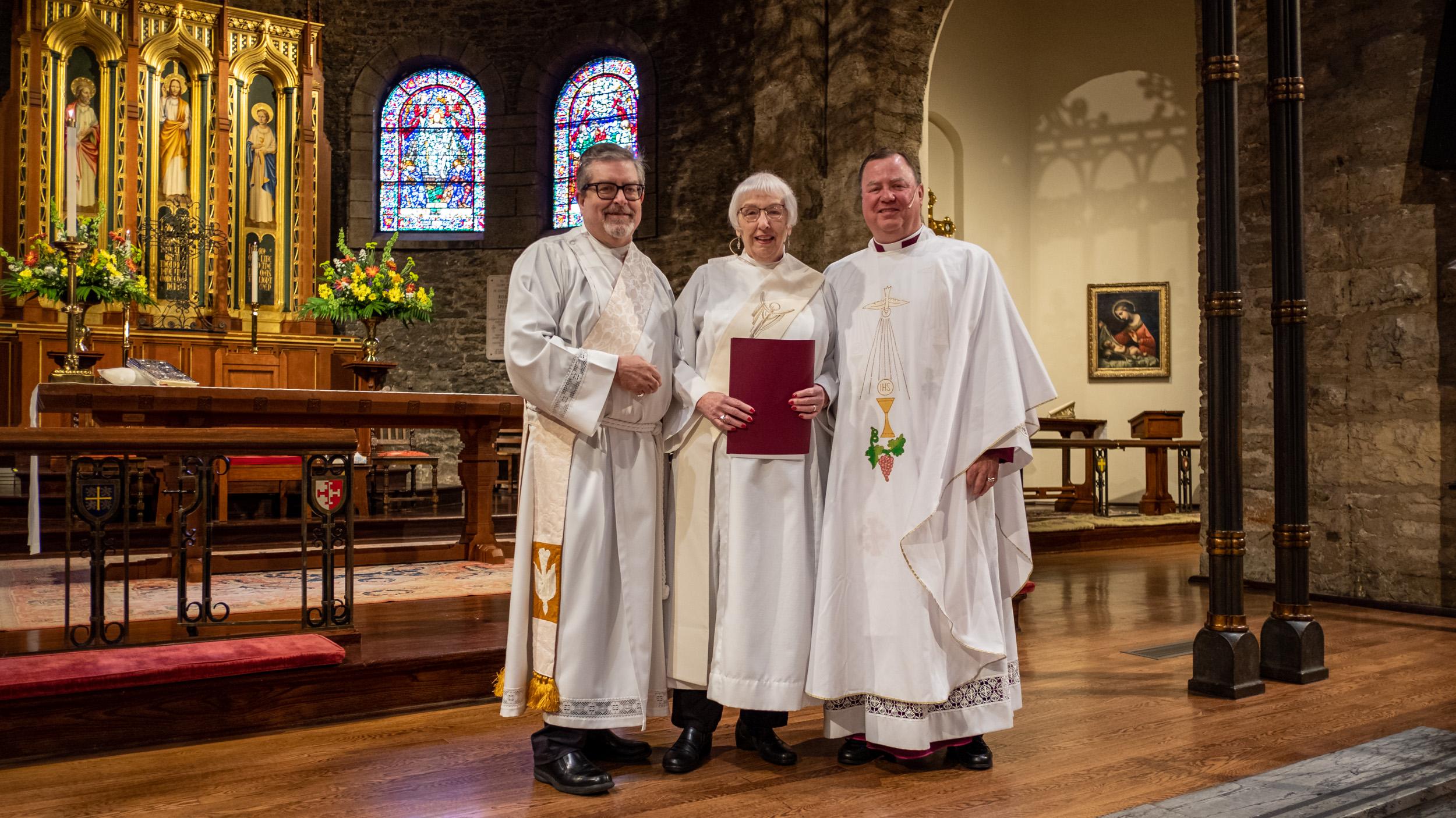 Deacon Sherrill Russel Receives St. Stephen's Award