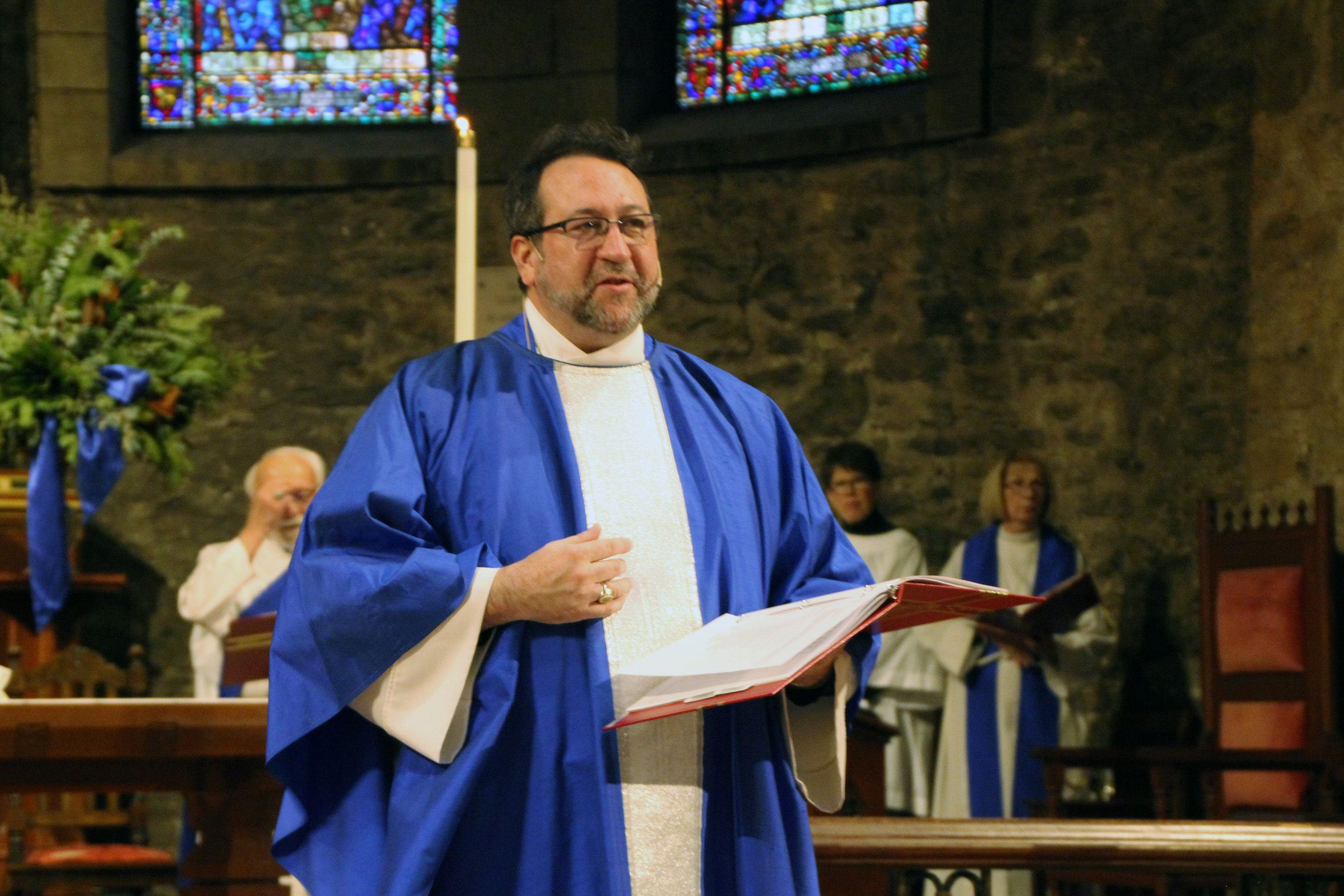First Service for New Dean at Grace and Holy Trinity Cathedral