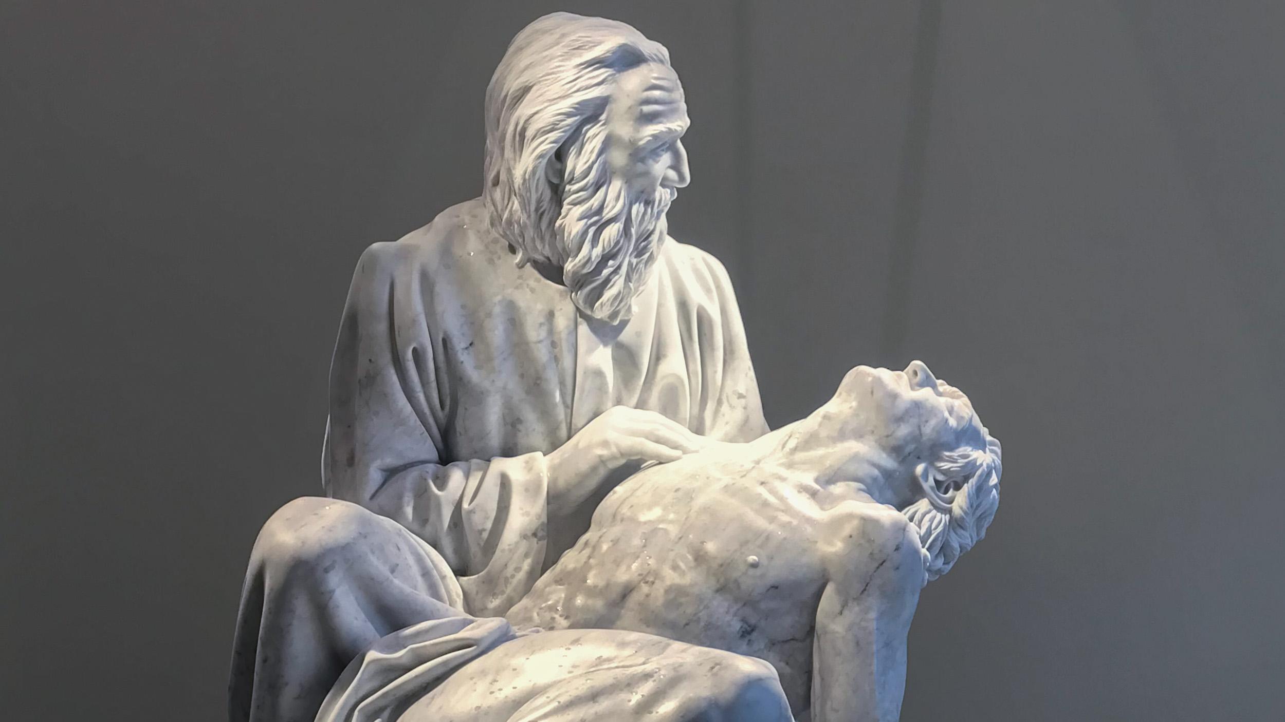 Official unveiling of Good Samaritan Sculpture at Saint Luke's Marion Bloch Neuro Science Building