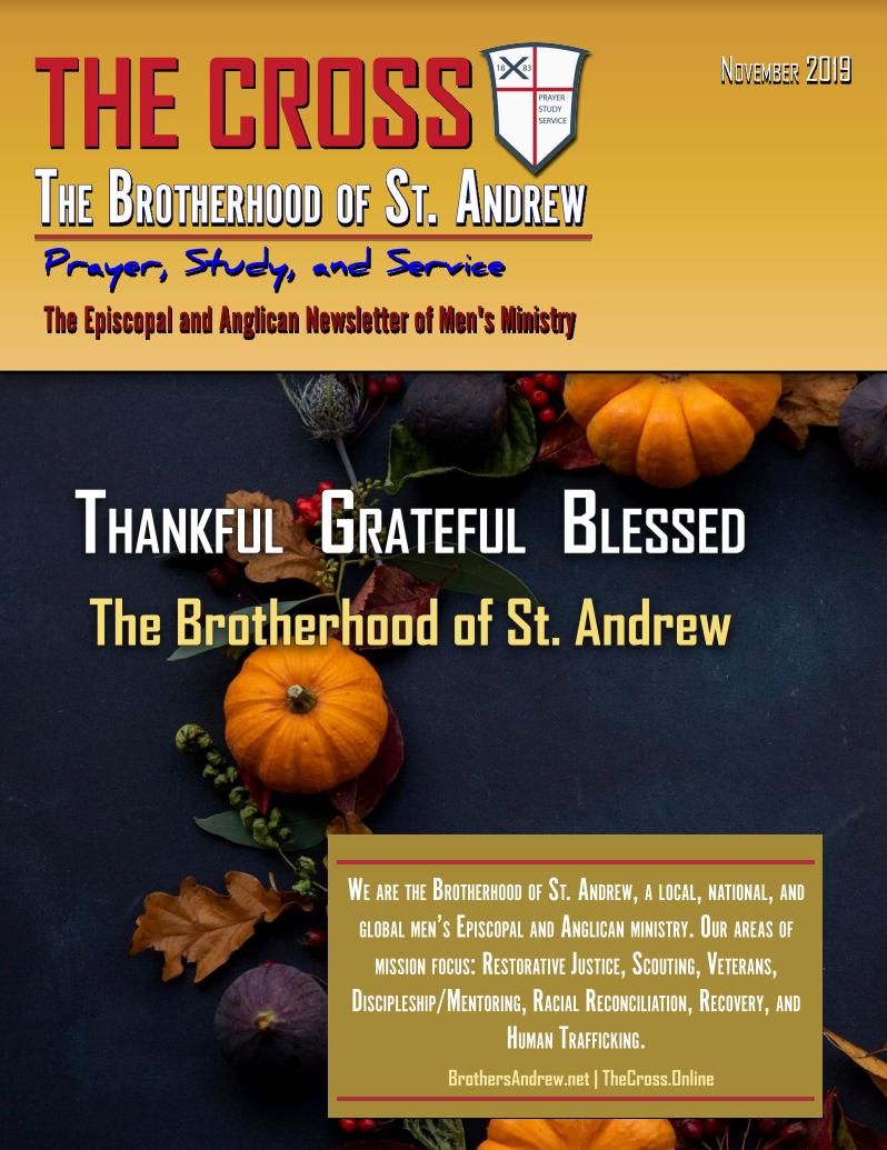 The St. Andrew's Cross – November 2019 Issue
