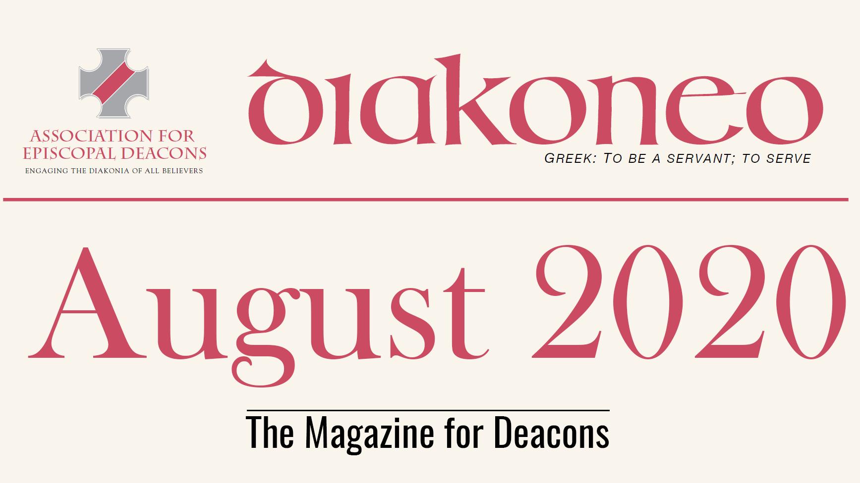 Diakoneo Magazine August, 2020