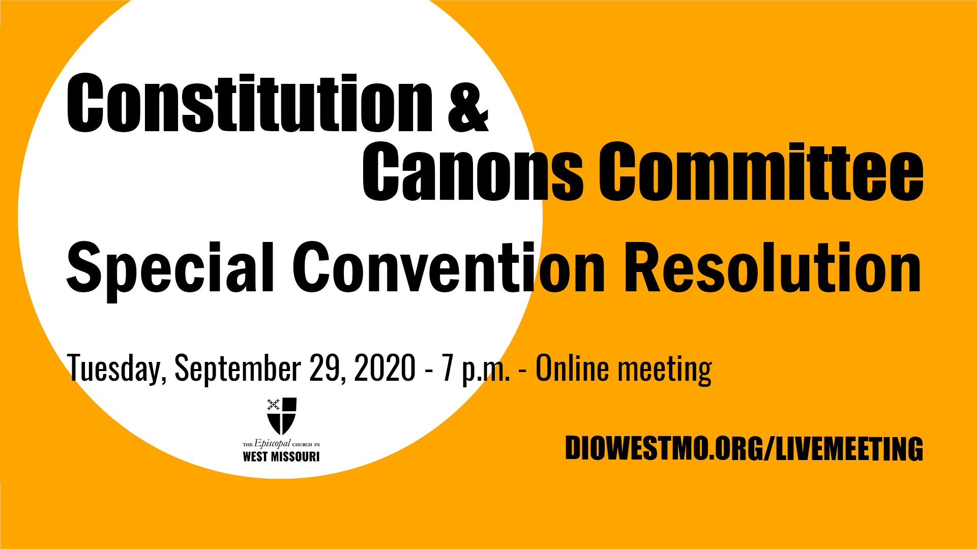 Constitution & Canons Committee – Special Convention Resolution