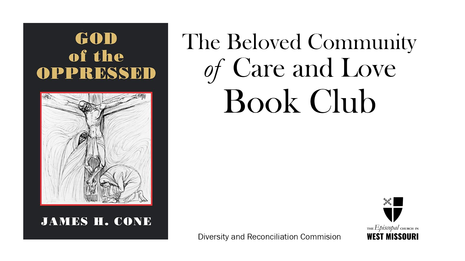 The Diversity and Reconciliation Commission to hold a second series of book study sessions online