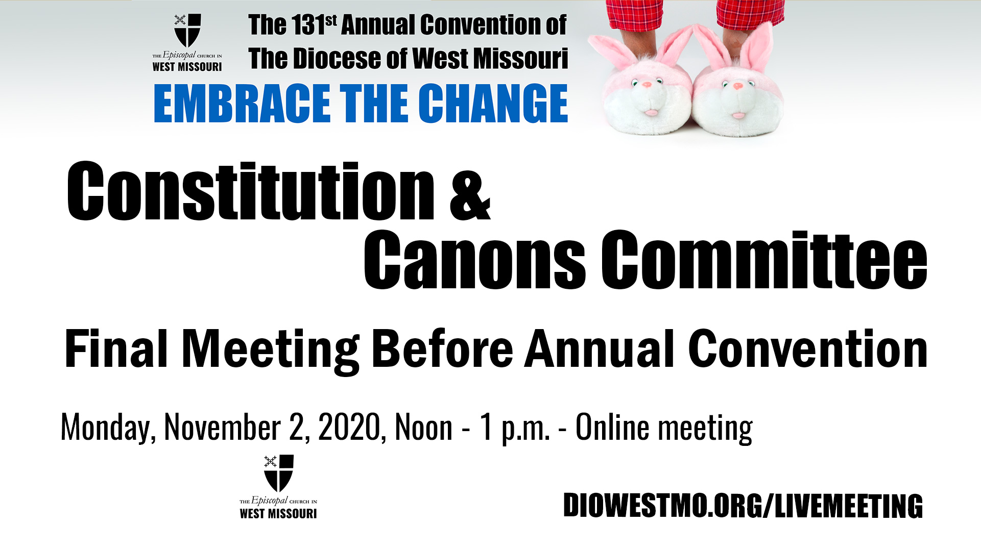 Constitution & Canons Committee – Final Meeting Before Annual Convention