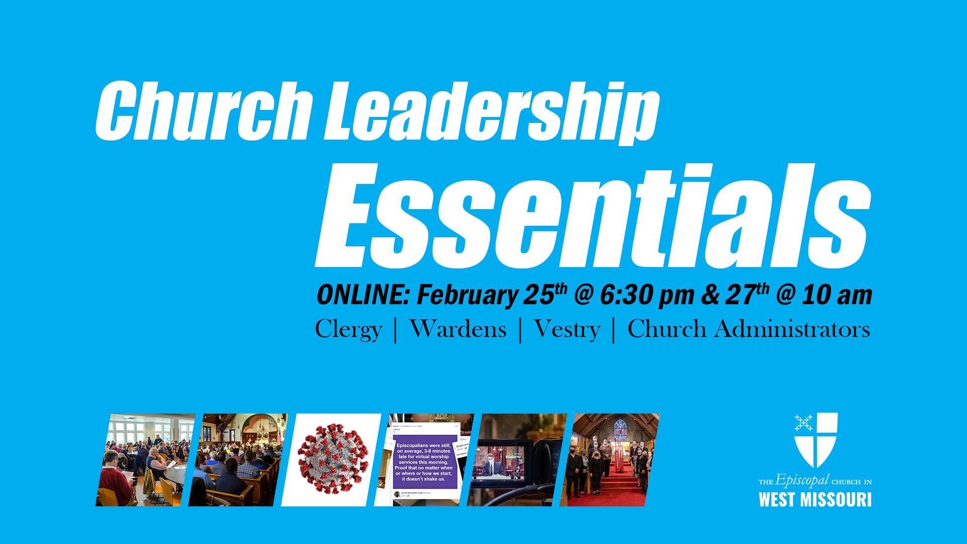 Church Leadership Essentials resources available online
