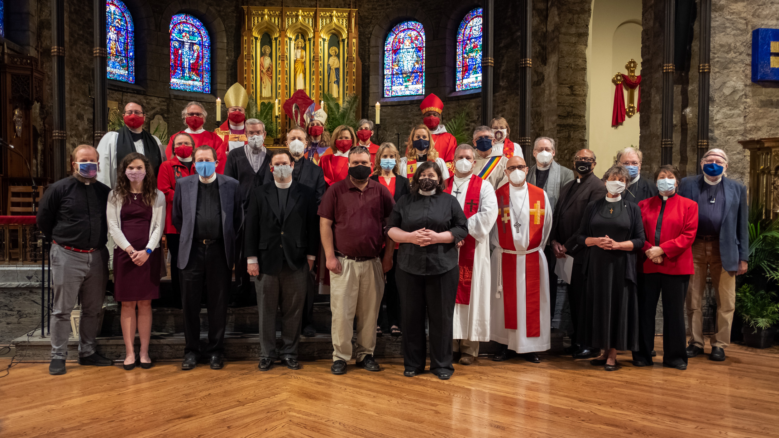Live Broadcast – Renewal of Vows and the Blessing of Oils