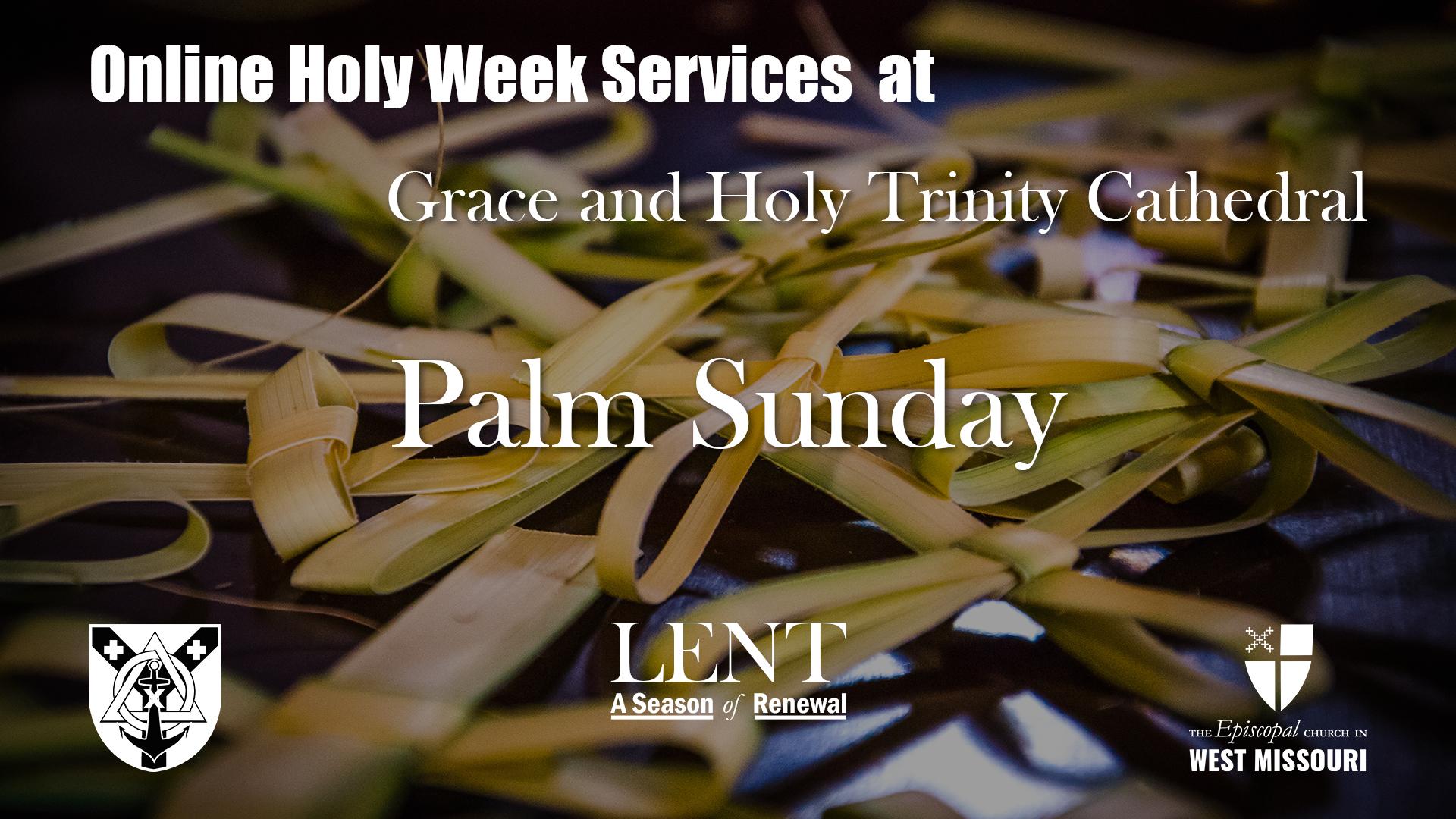 Live Broadcast — Palm Sunday