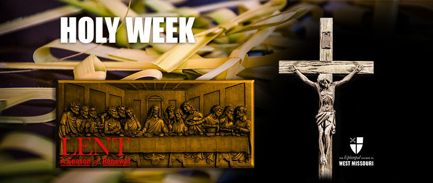 It's Holy Week. So what?