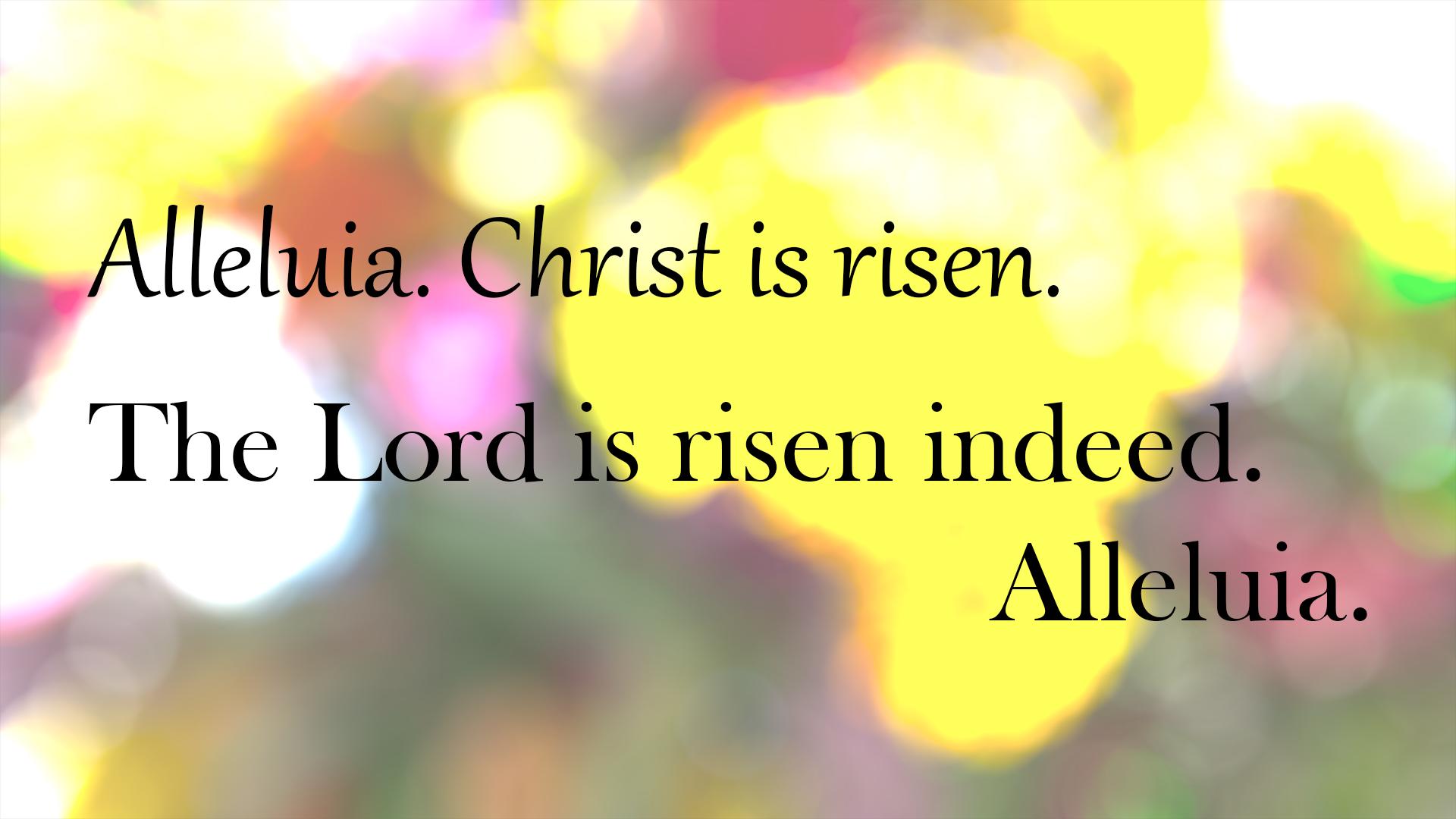 Live Broadcast — Easter Sunday