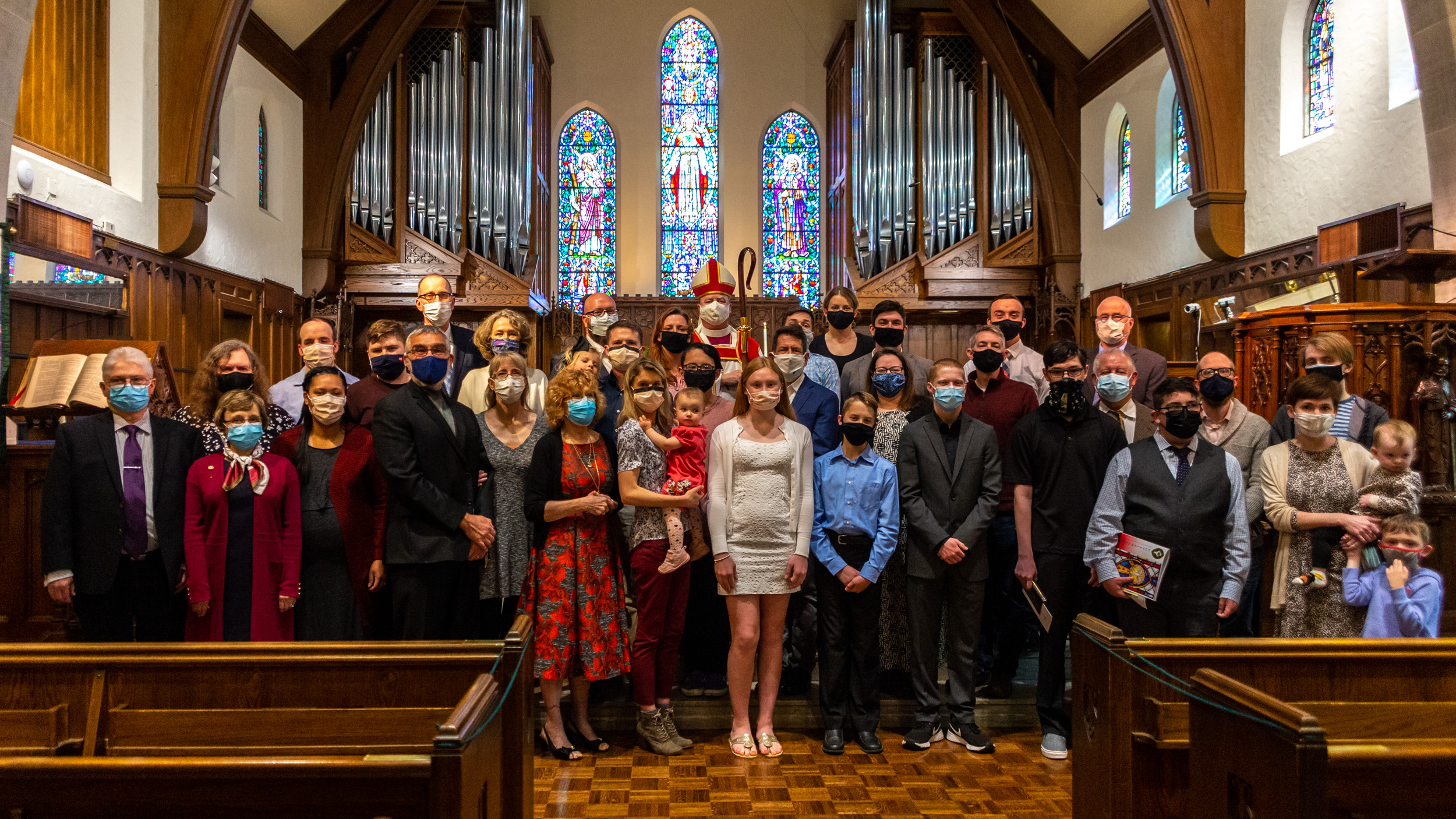 Area Confirmation Service at St. Andrew's