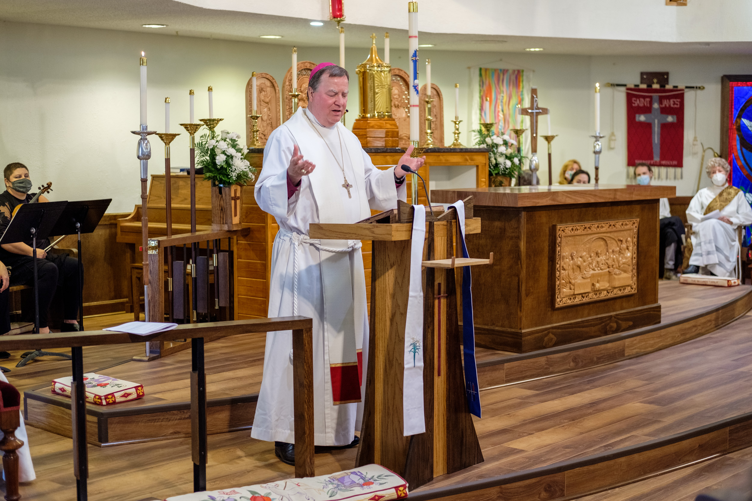 Bishop Marty's sermon for the re-dedication of St. James Episcopal Church, Springfield, May 12, 2021