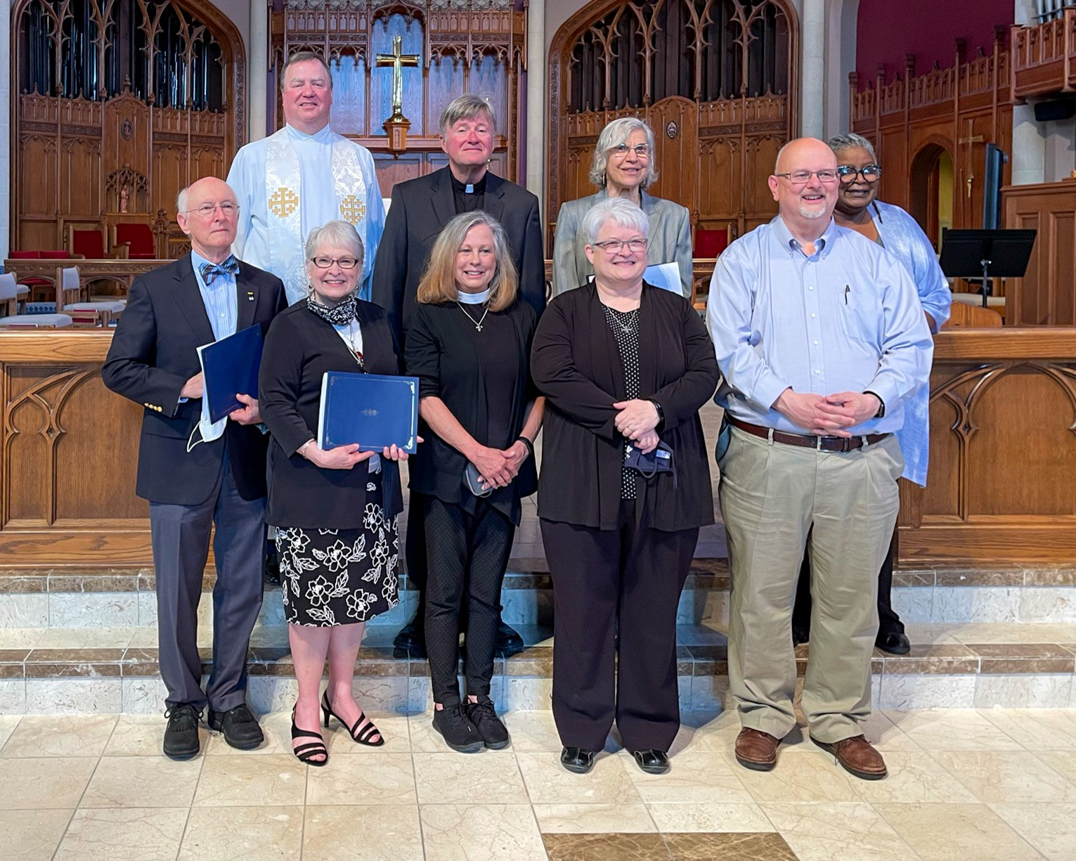 Graduation service and ceremony for the BKSM classes of  2020 and 2021 at Grace Cathedral, Topeka