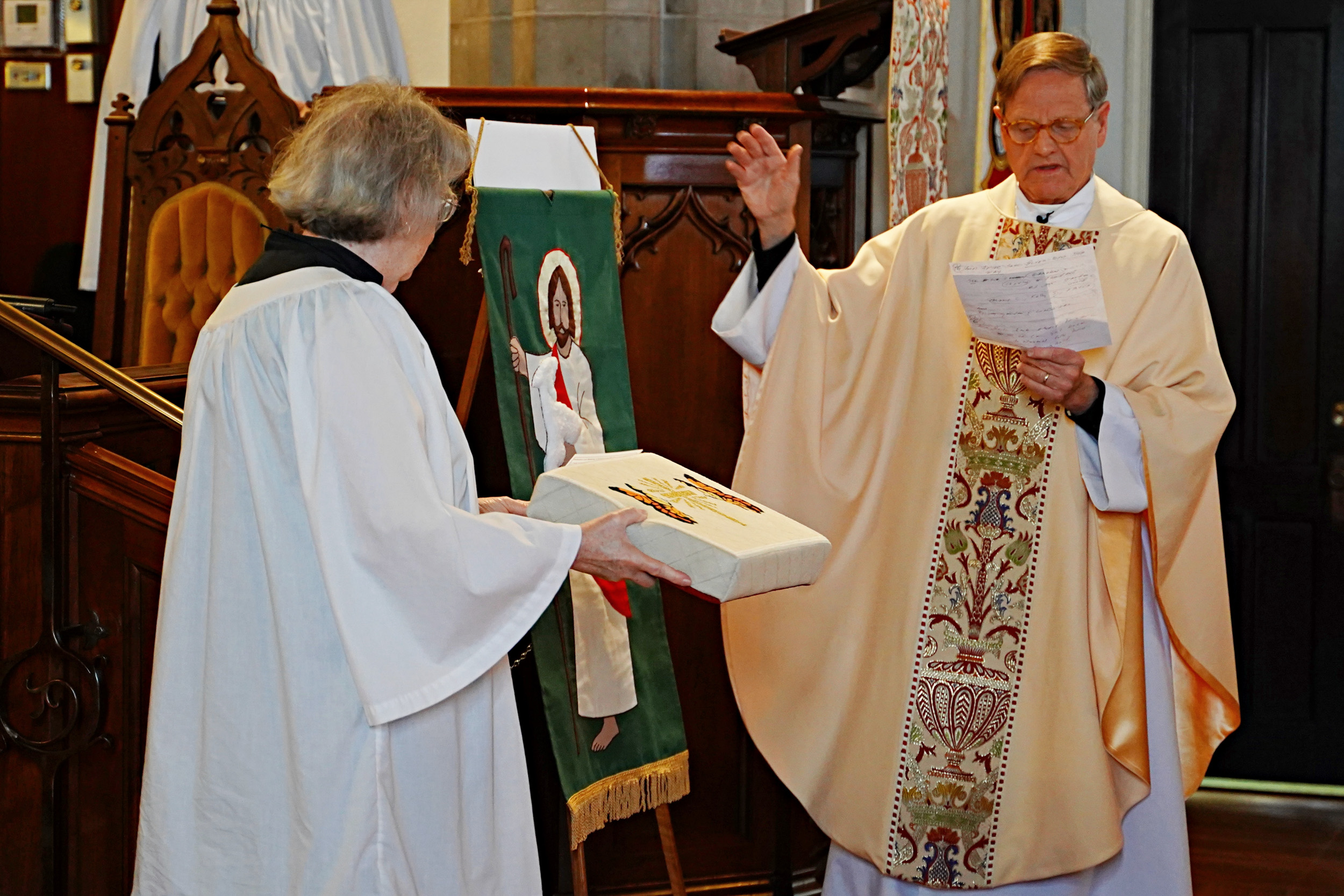 Twelve-year labor of love at Christ Episcopal Church in Springfield celebrated with a dedication and blessing