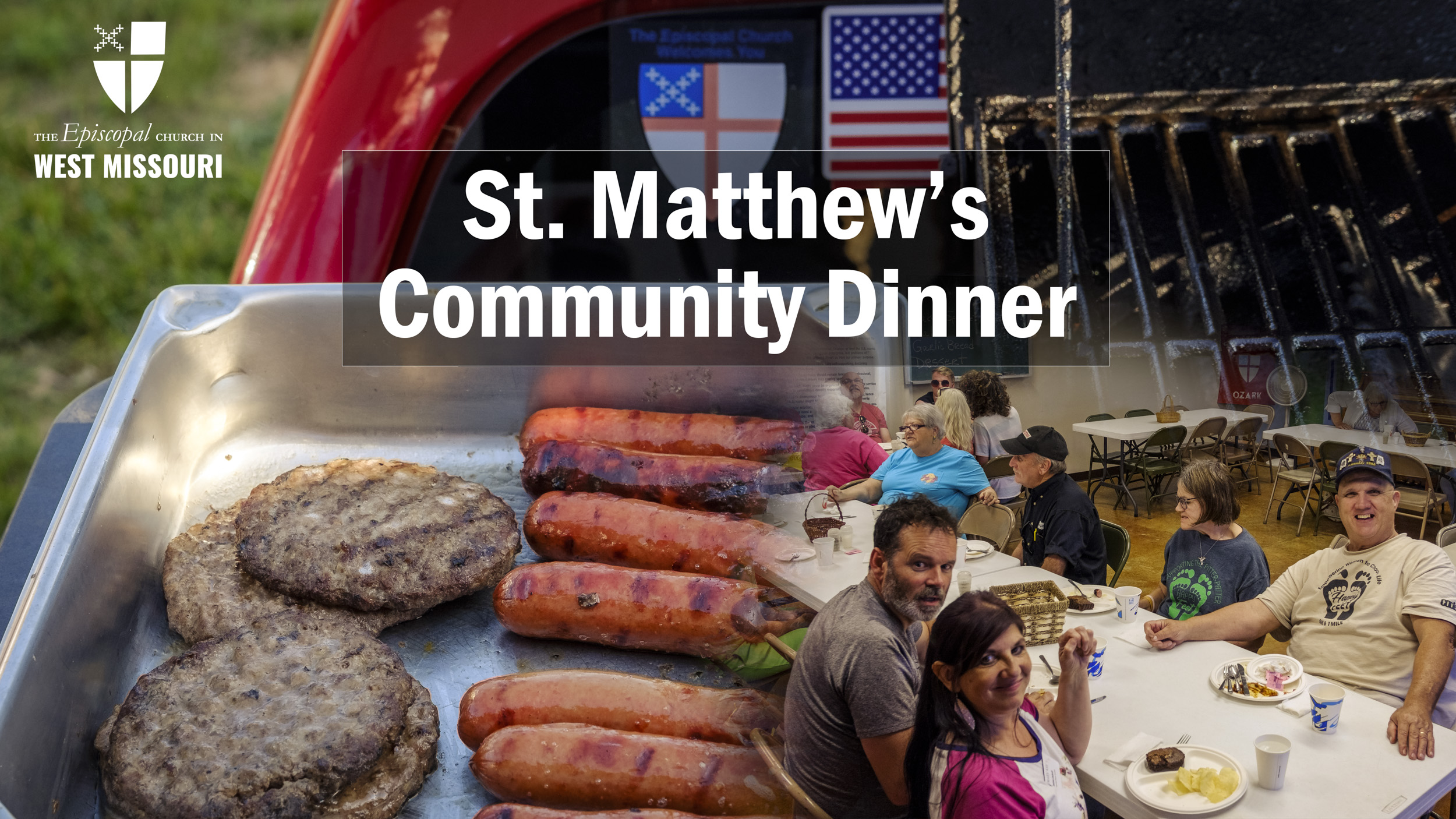 St. Matthew's holds first Community Dinner since COVID shutdown