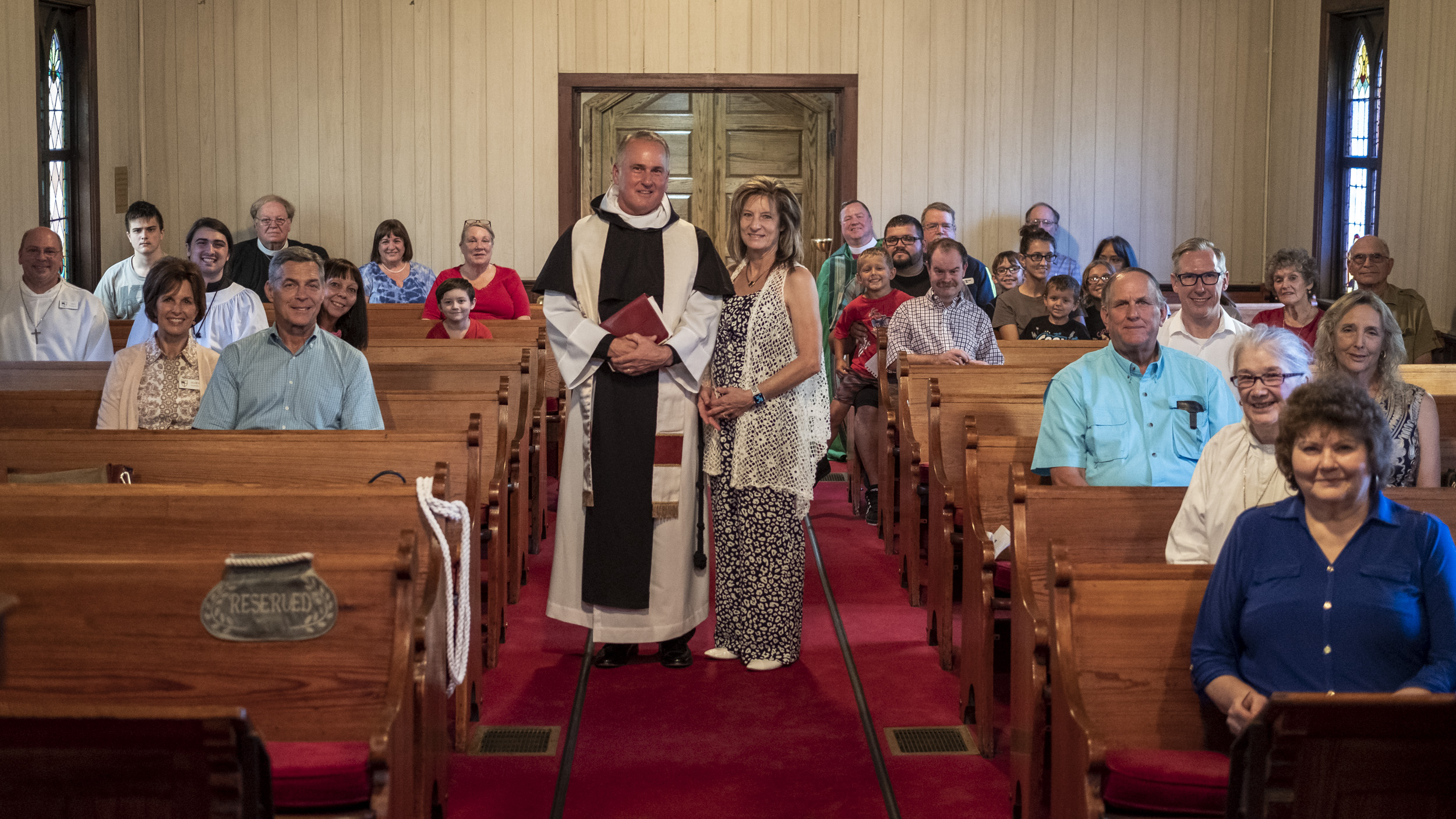 The installation of the Rev. James Harris as Priest in Charge of All Saints' Episcopal Church, West Plains