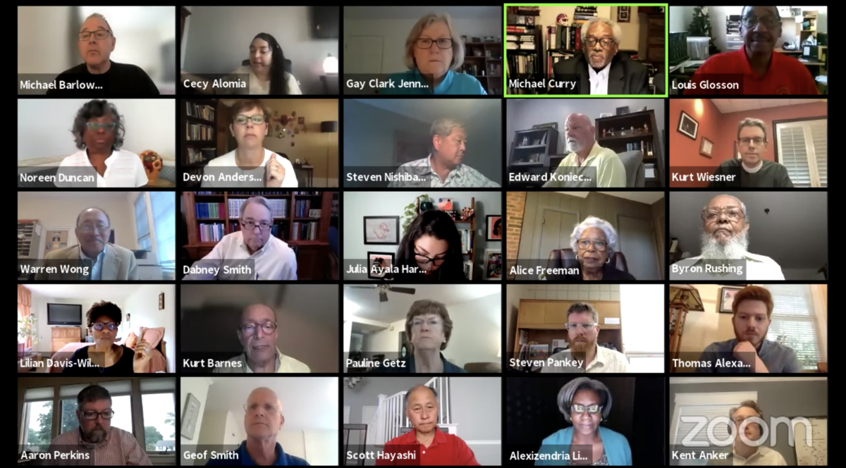 Executive Council advances church's work on racial justice issues at June virtual meeting